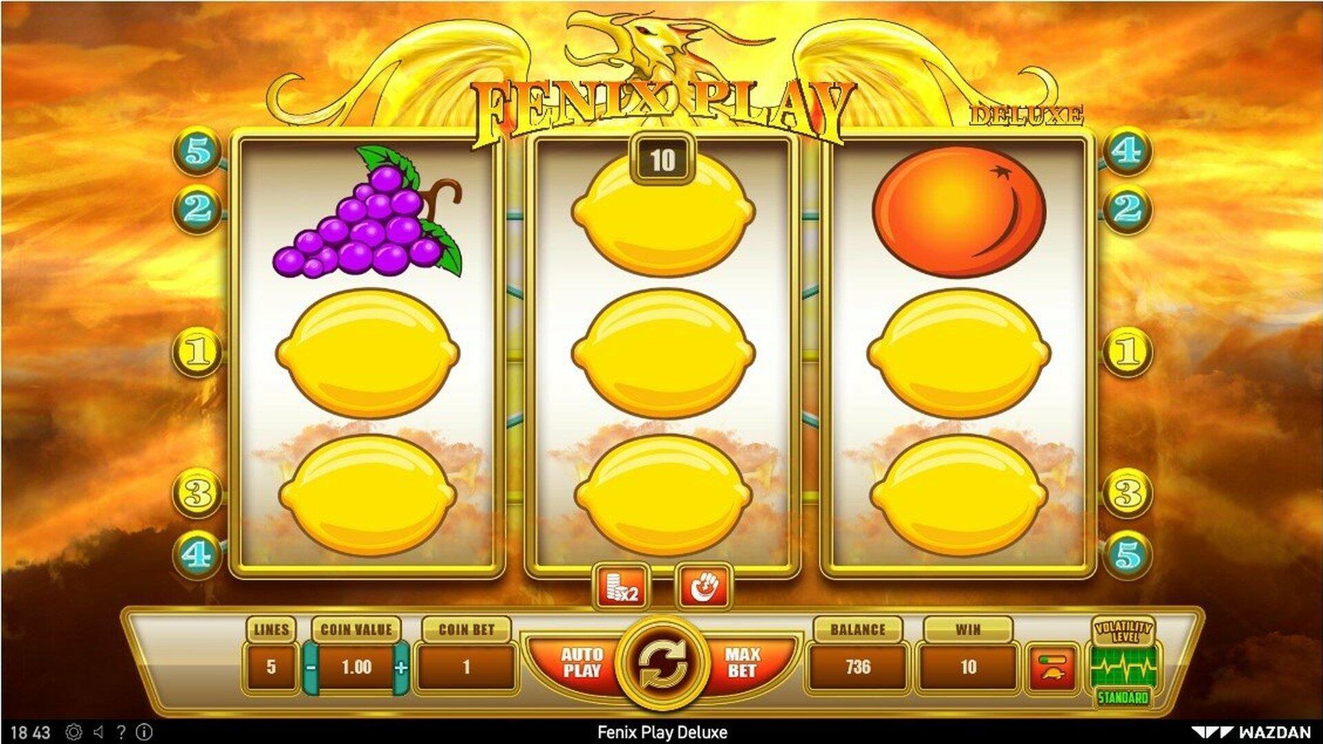 Fenix Play Deluxe Slot Machine