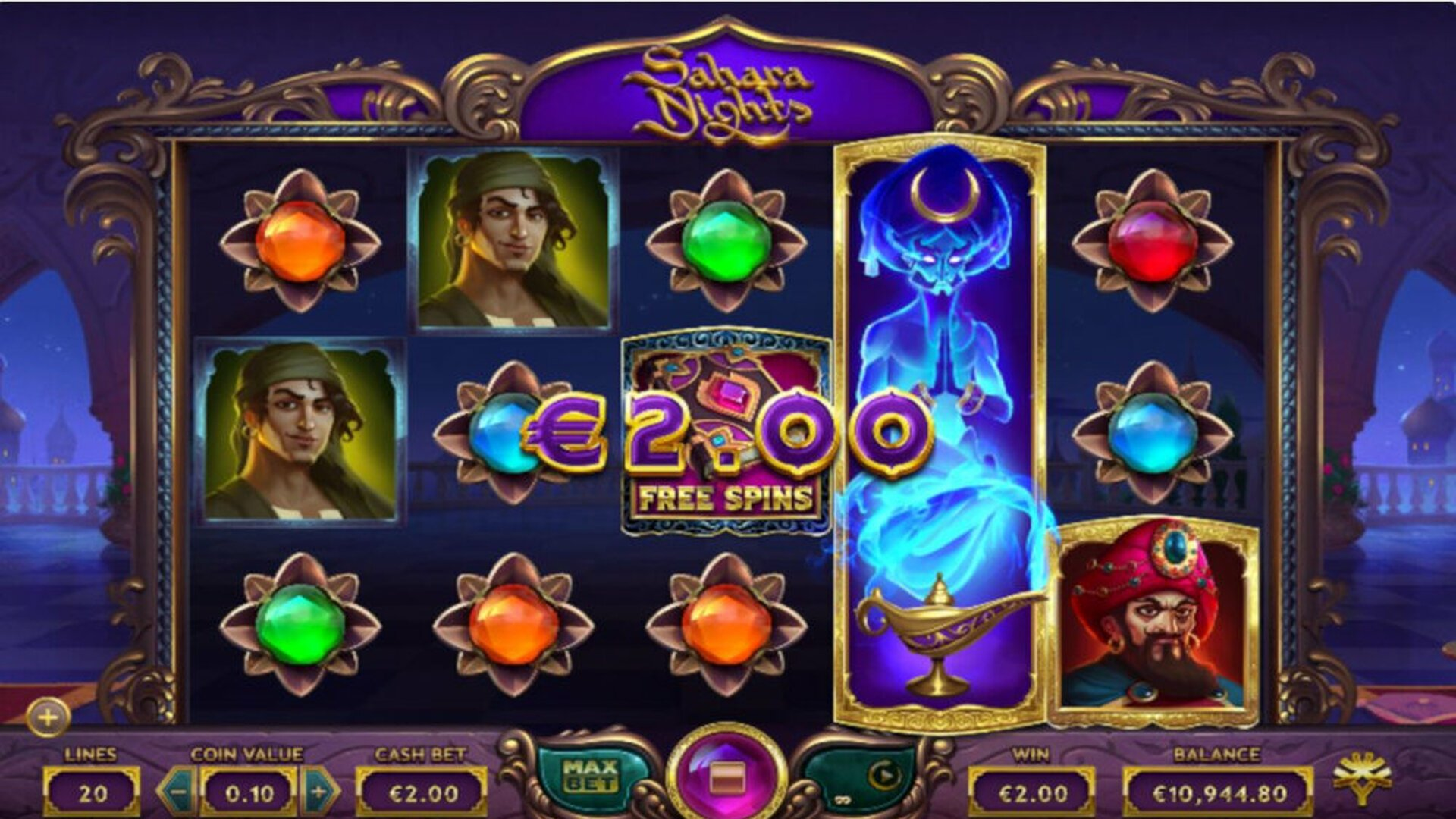50 free spins on sign up
